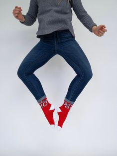Are Saturdays for the boys? No. For the girls? No. For showing off your jumping skills? Now we're talking. 😎 Under Pants, Keep It Simple, Falling Down, Casual Looks, Socks, Skinny Jeans, Formal, Girls, Cotton