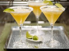 Frozen Beergaritas from FoodNetwork.com    Enjoy your cocktail responsibly!