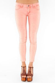 pastel jeans.