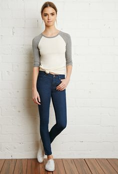 Classic Skinny Jeans | Forever 21 - 2000095952