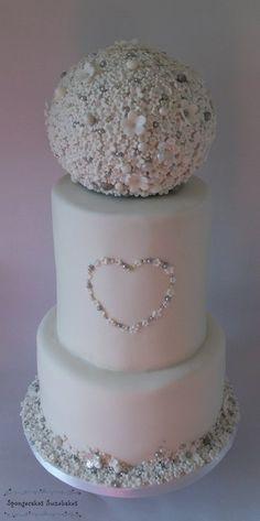 Sweet Blossom Wedding Cake