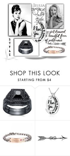 """""""2. I love you & your style :)"""" by selmica11 ❤ liked on Polyvore featuring Luxo, Maybelline, jewelry and jeulia"""