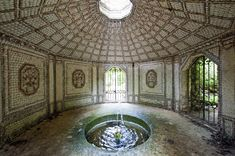 Château de Vandeuvre, Normandy, France (III) - The Shell Grotto ...