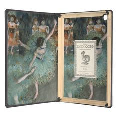 Swaying Dancer, Dancer in Green by Edgar Degas iPad Air Covers
