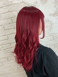 Hair Color Streaks, Red Hair Color, Shades Of Red Hair, Red Hair Inspo, Red Hair Inspiration, Cut My Hair, Hair Cuts, Pelo Color Vino, Strawberry Red Hair