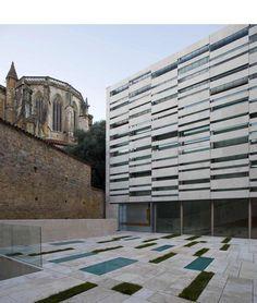 """""""archeological museum of oviedo"""" in asturias, spain by fernando pardo calvo l bernardo garcia tapia."""