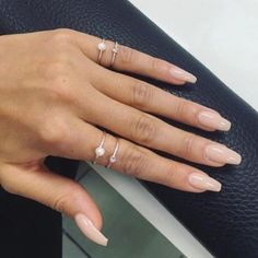 Nude nails #nudenails #nails