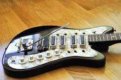 Stella STEREO Soviet jaguar ural USSR Russian Electric Guitar VINTAGE RARE 70s