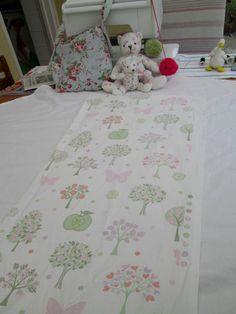 BN Gorgeous 100% Cotton Laura Ashley Remnant In Esme Apple