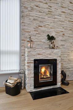 Wohnzimmer Esszimmer Beige Braun Steinwand Laminat Teppich ... Wohnzimmer Modern Braun