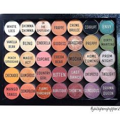 Such a beuatiful palette photos by @jalapenopopperz.
