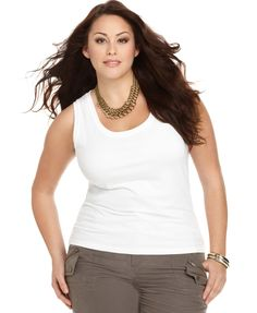 Calvin Klein Plus Size Tank Top
