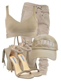 """""""Untitled #3142"""" by xirix ❤ liked on Polyvore featuring Brunello Cucinelli and Steve Madden"""