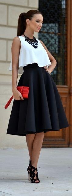 Zobacz zdjęcie Le Labbra Fashion - szyta na miarę bluzka podwójna z falbaną i spódnica rozkloszowana, różne kolory, wesele 2015, poprawiny, dla druhny, dla świadkowej, na chrzciny, na komunię, sylwester, bal, studniówka 2016 Zapraszamy na lelabbrafashion.com lub napisz na lelabbra.fashion@gmail.com w pełnej rozdzielczości