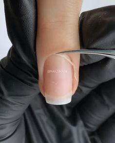 Acrylic Nail Designs Classy, Feather Nail Designs, Acrylic Nail Tips, Long Acrylic Nails, Pedicure Nails, Gel Nails, Gel French Manicure, Gel Nail Kit, Nail Art Videos