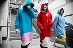 Thuggie...lol cross between a hoodie, snuggie, and thug wear... haha (ps it is a real product... and i kinda want one)
