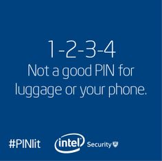 """Is breaking into your property as easy as """"1-2-3-4?"""" Follow this tip and choose a PIN that is hard to guess. And, try to crack our PIN for a chance to win a tablet. Play to win today! #PINit"""