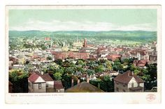 Chattanooga Tennessee city view from Missionary Ridge