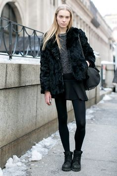 New York Fashion Week Fall 2014 Models Pictures - StyleBistro