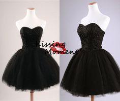 2014 New Arrival Black Short prom dresses