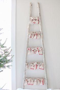 Advent calendar tree idea