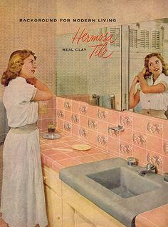 Hermosa Tile for Modern Living 1957