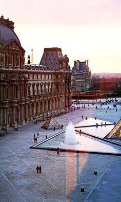 The Louvre – Museum in Paris, France.