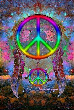 ☮✌~Paz~✌☮ ❤~ AMOR ~❤ ❤☮✌Peace☮∞L♡VE∞☆ ❁~Atrapa Sueños ~❤ Dream Catcher. tosh · Hippie Wallpaper