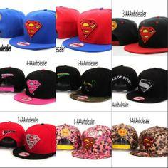 AAAwholesaler : Buy NEW 2014 Superman super man Letter baseball caps snapback adjustable hats for men and women bboy hiphop hip hop hiphop ...