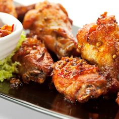 This sweet chili chicken wings recipe may well become a favorite in your house and they are a wonderful appetizer.. Sweet Chili Chicken Wings Recipe from Grandmothers Kitchen.