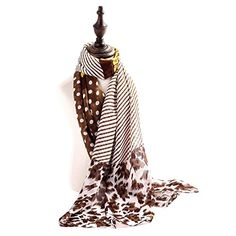 Jemis Women' s Youngful Leopard Silk Scarf 165*52CM Brown and white Jemis http://www.amazon.com/dp/B00PIRUAGO/ref=cm_sw_r_pi_dp_WMJcvb0VR6C8T