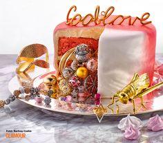 12 éves a GLAMOUR!!! Ez egy tökéletes szülinapi torta: csillogás és édesség együtt. We celebrate GLAMOUR Hungary's 12th birthday with this perfect cake: glamour and sweetness together!