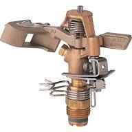 """Rain Bird 25PJDAC – ½"""" Inlet Brass Impact Sprinkler"""