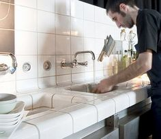 DTILE, the work of a clever group of Dutch designers, allows you to seamlessly blanket spaces and objects with tile.