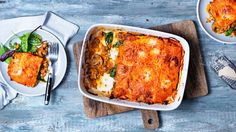 Image: Butternut squash lasagne