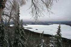 Vue du sommet, mont Ouareau, Québec,avril 2017 Avril 2017, Snow, Mountains, Nature, Travel, Outdoor, Outdoors, Naturaleza, Viajes