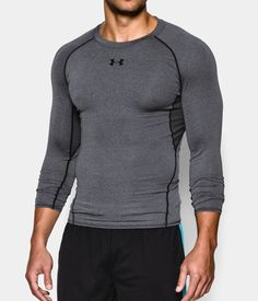 Men s UA HeatGear® Armour Long Sleeve Compression Shirt  e2ccc1b6c5833