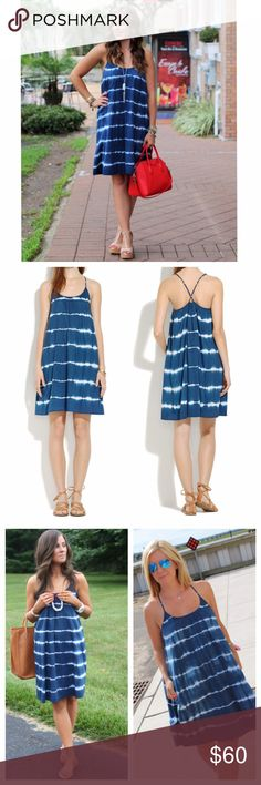 Madewell Tie-Dye Summer Dress This dress is simply adorable and super comfortable to wear. Hand dyed cross back dress. Side pockets. Fabric: cotton. Sized xs but could fit a size small as well. Loose fit. Mint condition. All reasonable offers are welcome! Please make all offers through the offer button Madewell Dresses