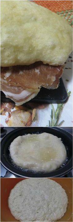 Frittelle di pane gustose, da farcire a nostro piacimento! #pane #ricettegustose