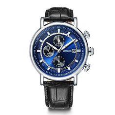8860dca86dfa Comprar Ofertas de Time100 W80091G.01A Reloj cuarzo para hombre de deporte  moderno con calendario de color azul el día de padre barato. ¡Mira las  ofertas!