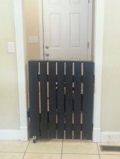Half Door Into Laundry Room!