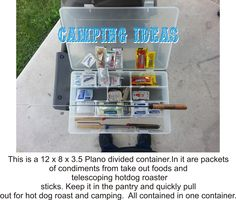 Great for camping idea.
