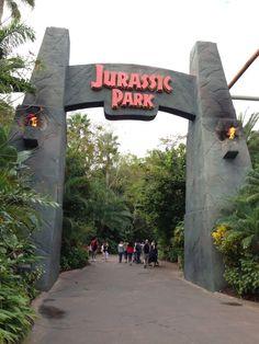 Jurassic Park at Universal Studios Florida via @disMagicMan
