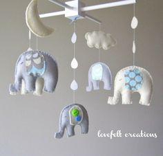 elephant nursery mobile  | followpics.co