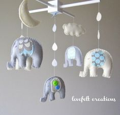 elephant nursery mobile  | followpics.co