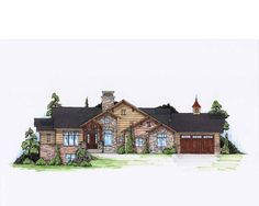 Traditional House Plan with 2110 Square Feet and 1 Bedroom from Dream Home Source | House Plan Code DHSW74751
