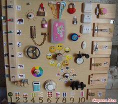 Pannello tattile e sonore - Giochi per bambini
