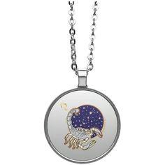 Scorpio Natalia Circle Necklace