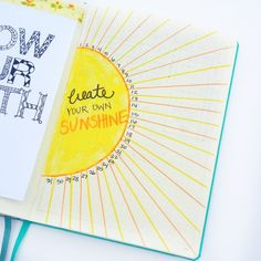 Plan with me: July Bullet Journal Setup - Sublime Reflection