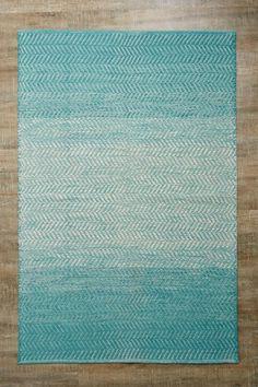 4x6 Gradient Turquoise Rug